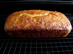 Banana Loaf Cooling
