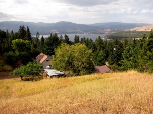 Home Sweet Home...Looking Towards the Mouth of the Kettle River Emptying into the Columbia River