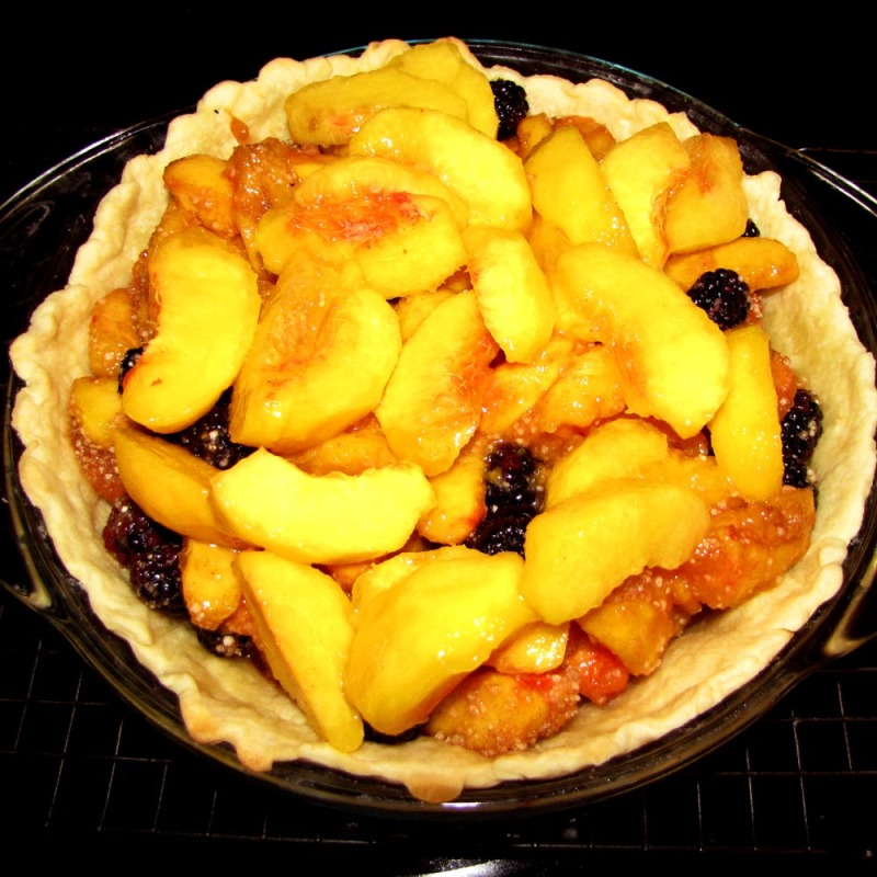 Peaches and Blackberries 8