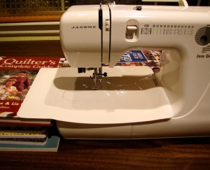 Machine Quilting with Gem Gold