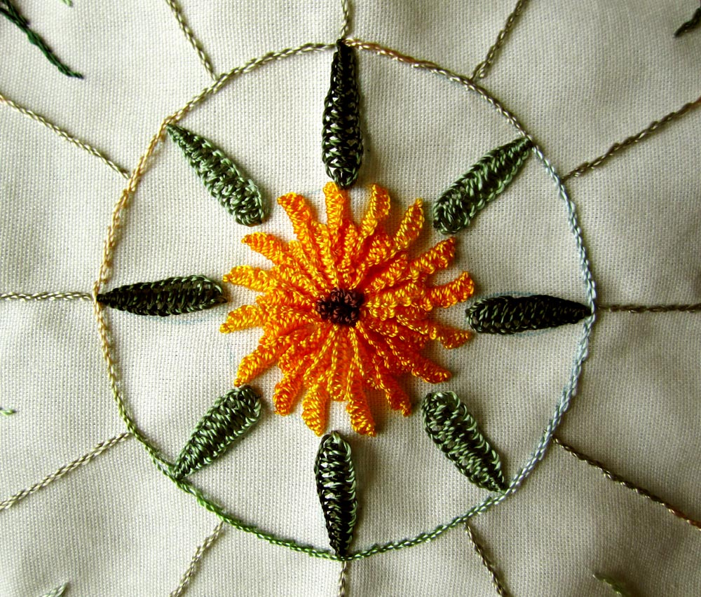 Brazilian Embroidery Tutorials http://lcscottage.wordpress.com/2012/03/07/wip-wednesday-brazilian-embroidery-ufo/