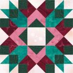 Arrow Crown Quilt Block