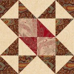 Chisholm Trail Quilt Block