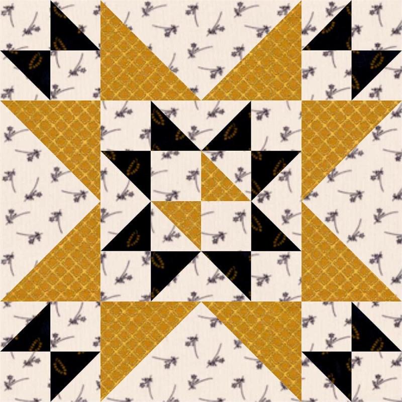 Coronation Quilt Block