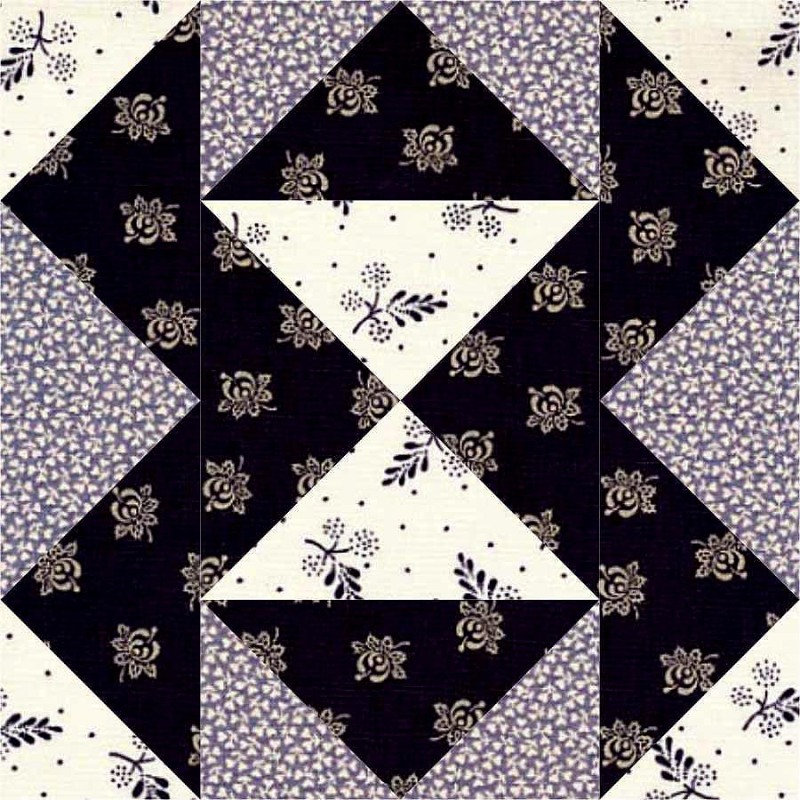 Fool's Puzzle Quilt Block