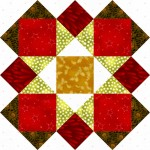 Friendship Star Quilt Block