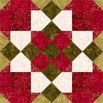 Indian Squares Quilt Block