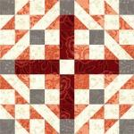 Medieval Walls Quilt Block 3