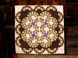 New York Wheel Inklingo Mystery Quilt