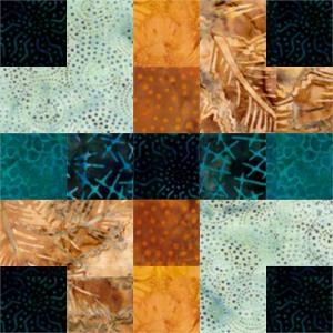 Plaid Quilt Block 2