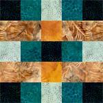 Plaid Quilt Block