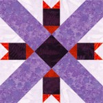 Swing in the Center Quilt Block 2