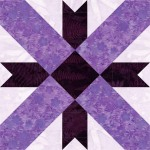 Swing in the Center Quilt Block