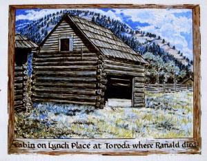 Ranald MacDonald Sign Board 7