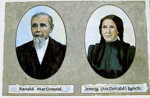 Ranald MacDonald Sign Board 6