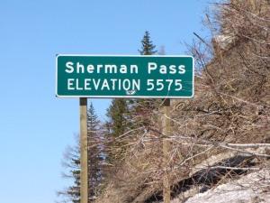 Sherman Pass Elevation