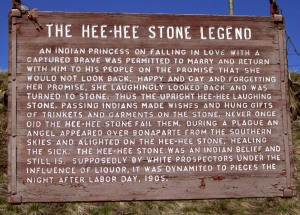 Hee-Hee Stone Legend