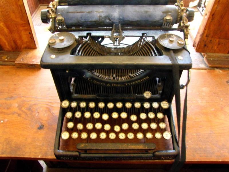 Bank Typewriter