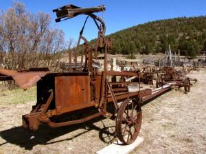 Horse Propelled Hay Baler