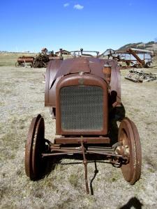 Crank Tractor