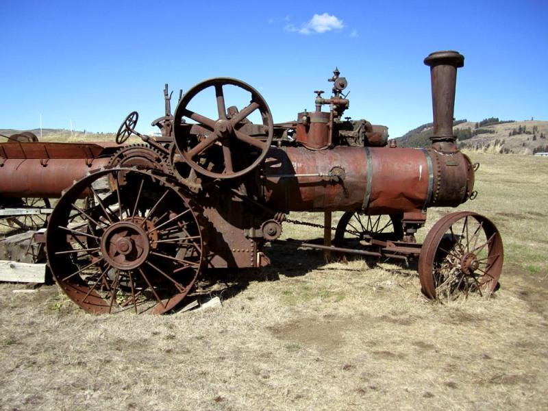 Steam Threshing Machine