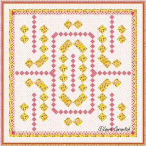 Carrie Nation Quilt On Point Set 2