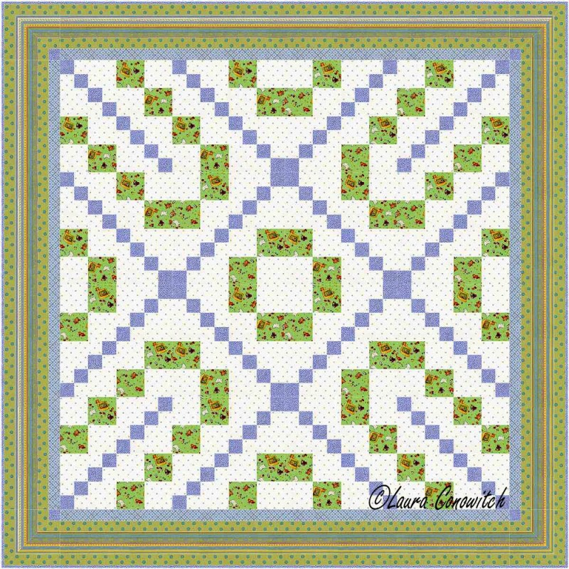 Carrie Nation Quilt Straight Set 3