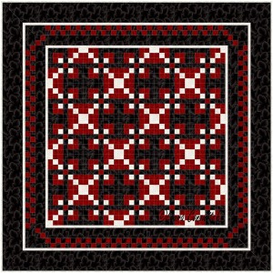 Leavenworth Nine Patch BB Rotated Straight Set 4