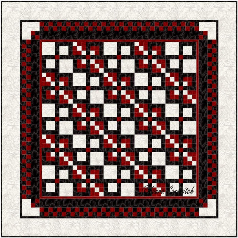 Leavenworth Nine Patch BB Straight Set 5
