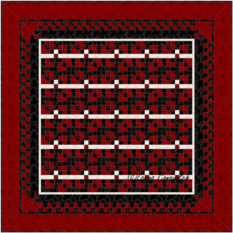 Leavenworth Nine Patch Straight Set