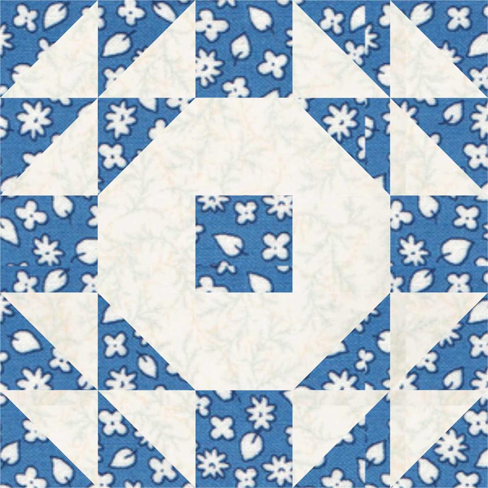 Wedding Ring Quilt Block LC s Cottage