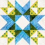 Wyoming Valley Star Quilt Block