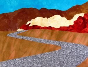 Desert Scene Before Painting
