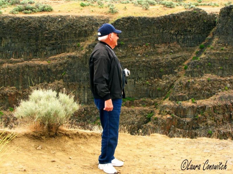 Palouse Falls Dad