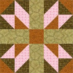 Alpine Cross Quilt Block