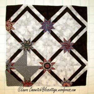 One-Fourth of the Quilt Top
