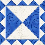 Aunt Mary's Double Irish Chain Quilt Block
