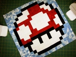 Super Mario Bros. Quilt Along