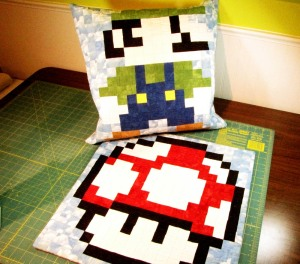 Super Mario Bros. Quilt Along