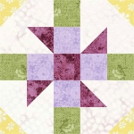 Baton Rouge Square Quilt Block