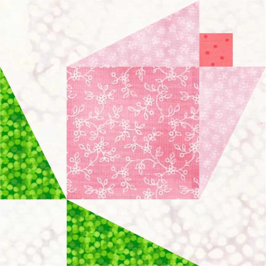 Magnolia Bud Quilt Block Part 2 | LC's Cottage : magnolia quilt pattern - Adamdwight.com