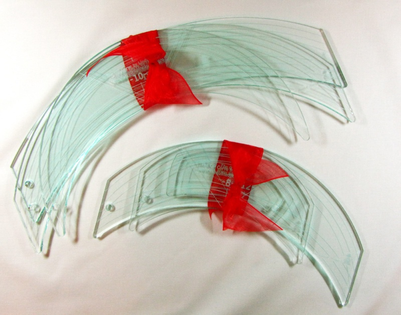 Curved Rulers