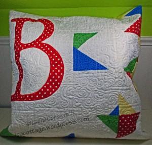 Initial B Pillow