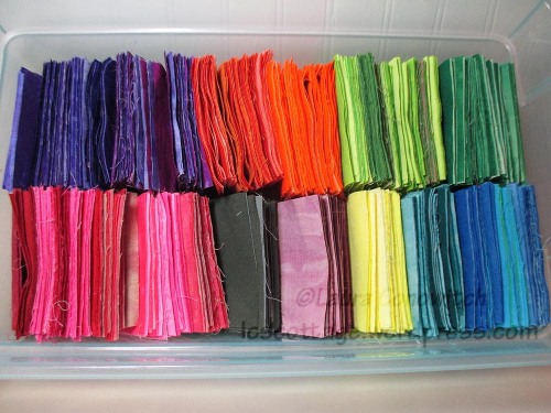 Hand Dyed Scraps