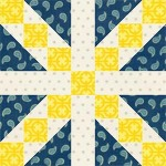 Country Roads Quilt Block
