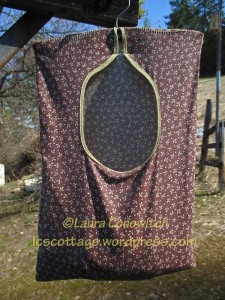 Clothesline Peg Bag