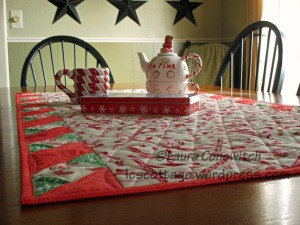 Twister Table Runner