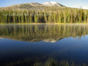 Yellowstone National Park Sylvan Lake