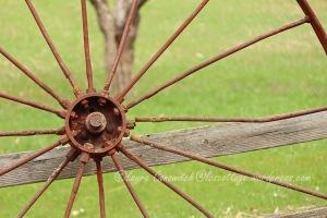 Rusted Wheel