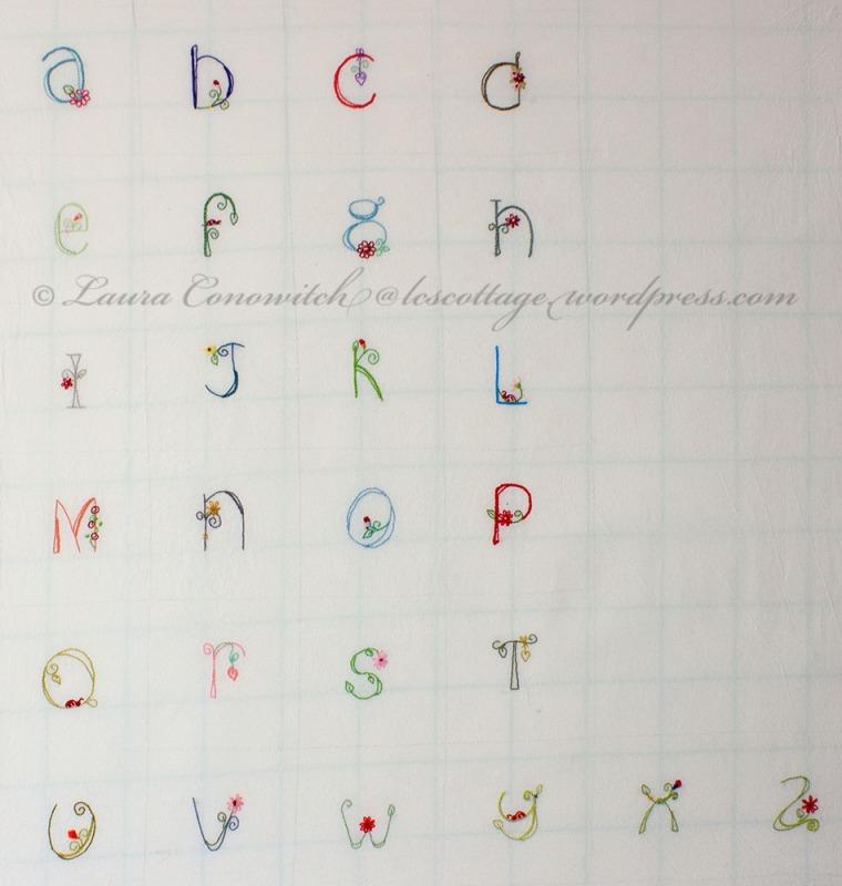 Jenny of Elefantz Alphabet Pincushions